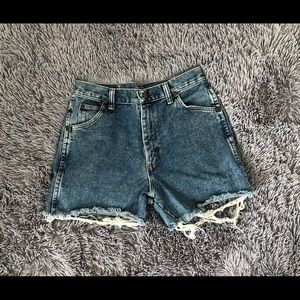Wrangler High Waisted Shorts